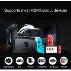 Mini Video Capture Card USB 2 0 Video Grabber Record Box for PS4 Game DVD Camcorder black