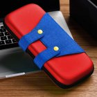 Mini Wear-resistant Portable Storage Bag Carrying Case for Switch Game Console red