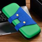 Mini Wear-resistant Portable Storage Bag Carrying Case for Switch Game Console green