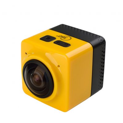 Panoramic Wide Angle Action Camera Yellow