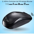Mini Wireless Mouse101B USB Laptop Wireless Mouse black