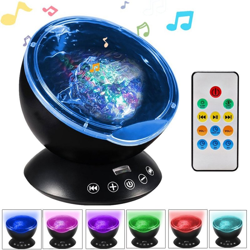 Music Projector LED Night Light