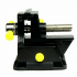 Miniature Tabletop Vise with Suction Cup Vice for Electronics Modeling Jewelry Hand Tool Black
