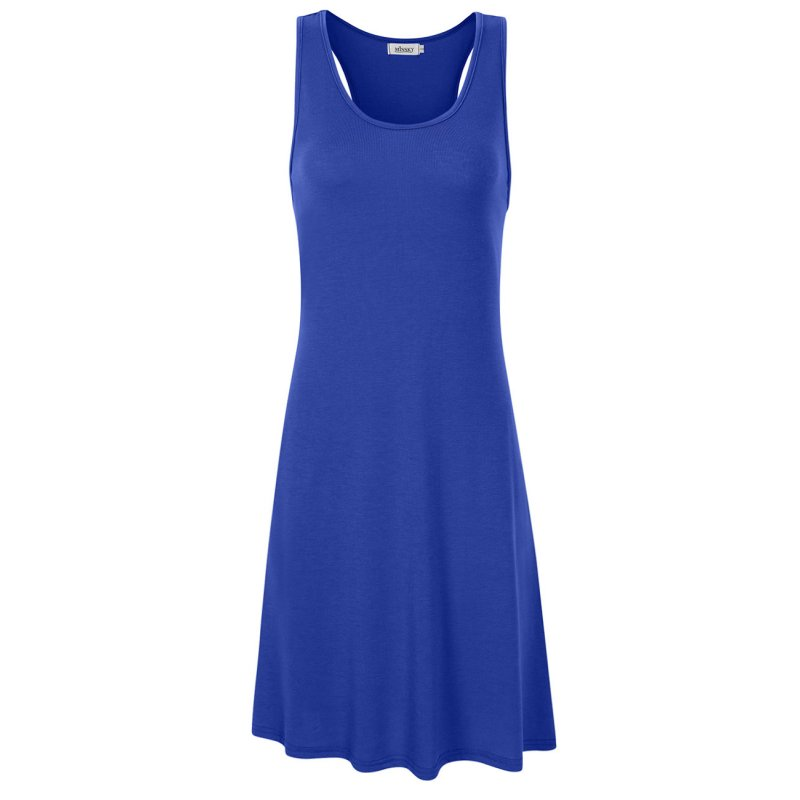 Missky Women's Casual Sleeveless Tank Dress