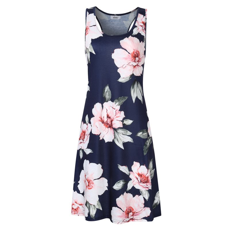 Missky Women's Casual Dress Floral Print S