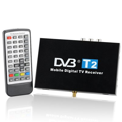 Mobile Car DVB-T2 Digital TV Receiver