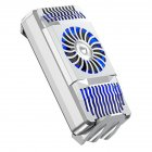 Mobile Phone Radiator Cooling Fan Handle Bracket Game Radiator Silver
