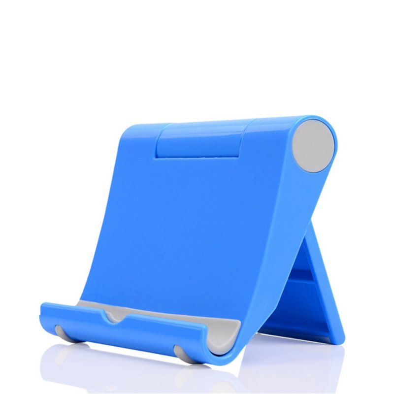 Mobile Phone Tablet Stand Holder Blue