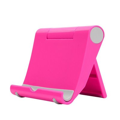 Mobile Phone Tablet Stand Holder Pink