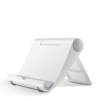 Mobile Phone Tablet Stand Holder White