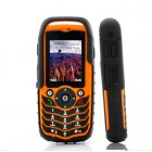 Rugged 4 Band Mobile Phone - Fortis Orange