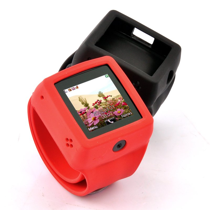 Mobile Phone Watch w/ Change Straps - Snap-On