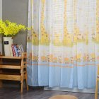 Modern Tulle Curtain Window Gauze for Living Room Bedroom Kids Room Shading blue_1m wide x 2m high