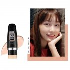Moisturizing CC Foundation Makeup Natural Cover Up Waterproof Whitening Face Concealer Stick