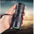 Monocular Telescope 10-100x30 7-17 Times HD Mini Telescope for Mobile Phone Camera  telescope
