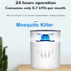 Mosquito Killer Lamp Intelligent Light Wave Bionic Photocatalyst Mosquito Lamp No Radiation Environmental Mosquito Killer Lamps white U S  regulations
