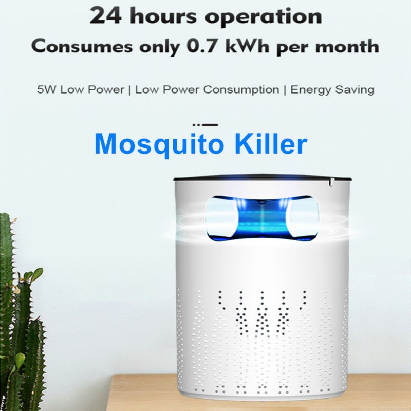 Mosquito Killer Lamp Intelligent Light Wave Bionic Photocatalyst Mosquito Lamp No Radiation Environmental Mosquito Killer Lamps white_U.S. regulations