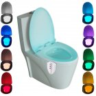 Motion Activated UV Toilet Light