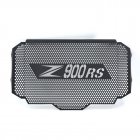 Motor Radiator Grille Guard Cover Stainless steel Protection Cover for Kawasaki Z900RS 17-18 black