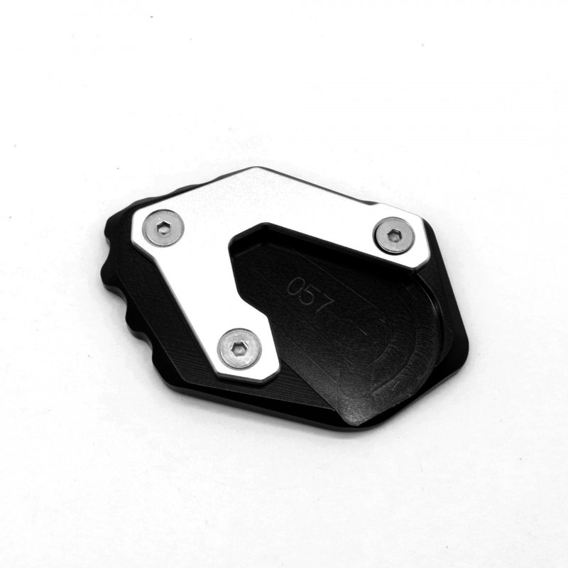 Motorcycle CNC Kickstand Foot Side Stand Extension Pad for BMW R1200GS LC 14-18 R1250GS black