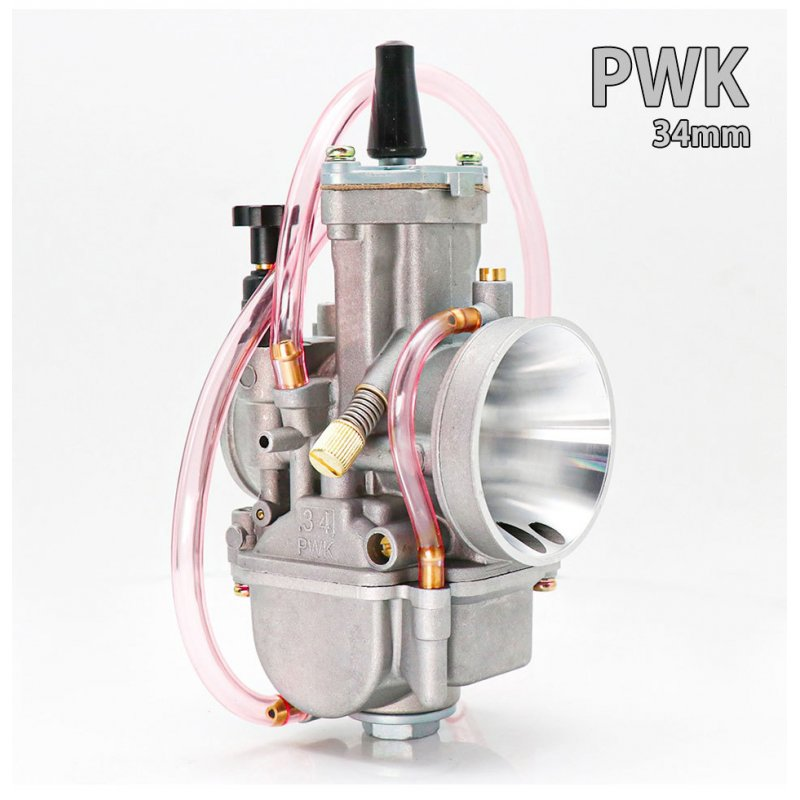 Motorcycle Carburetor PWK 21 24 26 28 30 32 34mm Carb For ATV Scooter Dirt Pit Bike 34mm