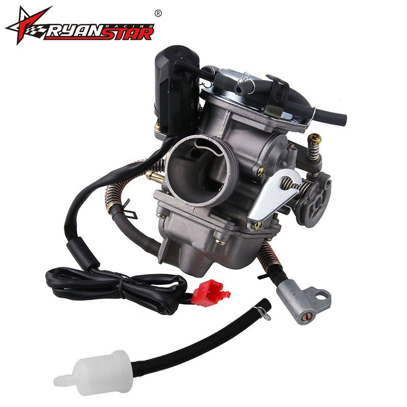 Motorcycle Carburetor for GY6 125 150cc Scooter ATV Kazuma Baja MB-FP012