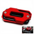 Motorcycle Clutch Brake Fluid Reservoir Cap for HONDA CB650 CB650F/R CBR650F 14-19 red