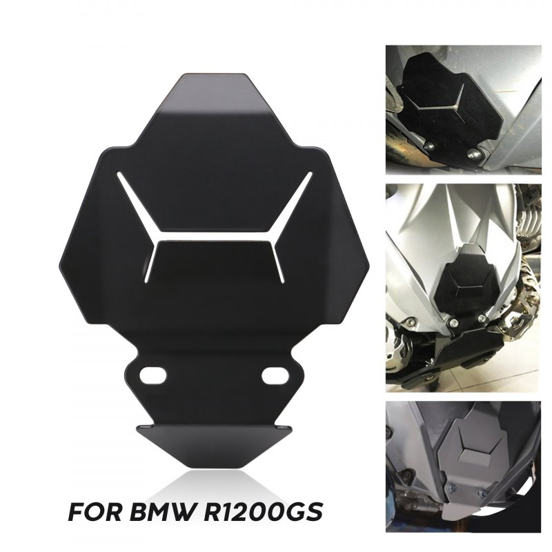 Motorcycle Front Engine Housing Protection Accessory For BMW R1200GS 14-19 black