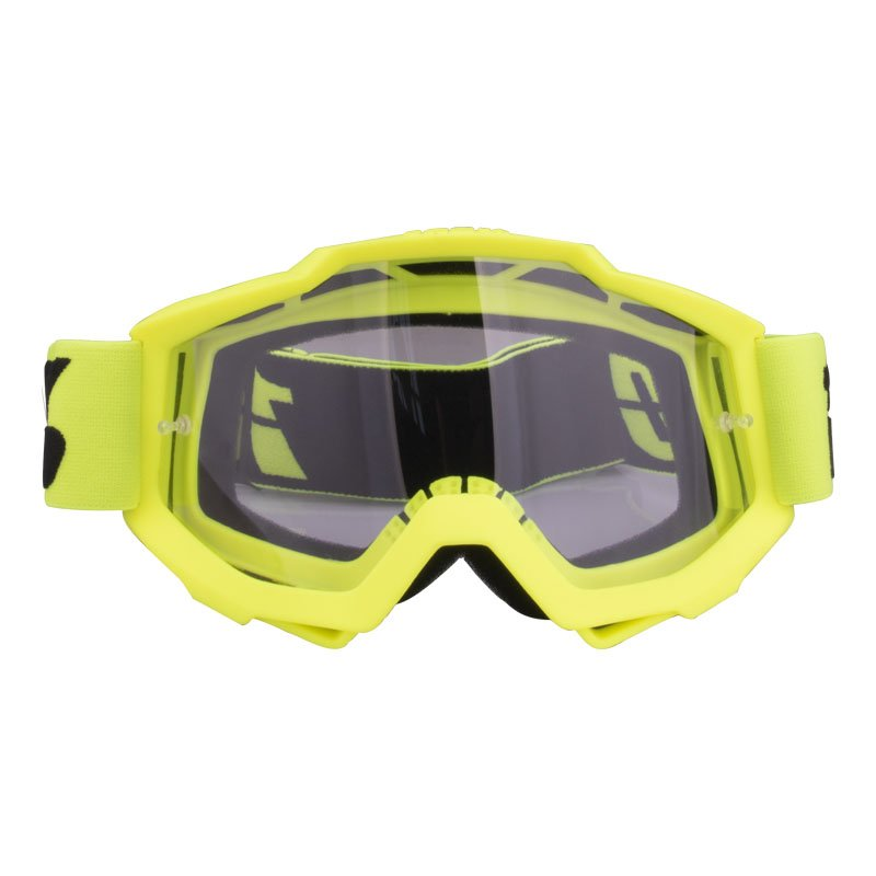 Motorcycle Goggles  Riding  Off-road Goggles Riding Glasses Outdoor Sports Eyeglasses Sand-proof Windproof Glasses Fluorescent yellow transparent