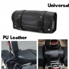 Motorcycle Hanging Bag Retro Modified Locomotive Side Storage Bag Kit black