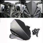 Motorcycle Headlight Windshield Windscreen For YAMAHA MT-09 MT09 17-20 black