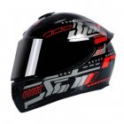 Motorcycle Helmet cool Modular Moto Helmet With Inner Sun Visor Safety Double Lens Racing Full Face the Helmet Moto Helmet Knight Pulse Red_XL