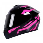Motorcycle Helmet cool Modular Moto Helmet With Inner Sun Visor Safety Double Lens Racing Full Face the Helmet Moto Helmet Samurai_XL