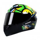 Motorcycle Helmet cool Modular Moto Helmet With Inner Sun Visor Safety Double Lens Racing Full Face the Helmet Moto Helmet little turtle_L