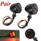 Motorcycle LED Brake Running Turn Signal Tail Light black