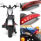 Motorcycle LED Taillight Mudguard Brake Light for -Davidson Sportster 883 X