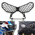 Motorcycle Modification Headlight Grille Guard Cover Protector for HONDA CRF1000L black