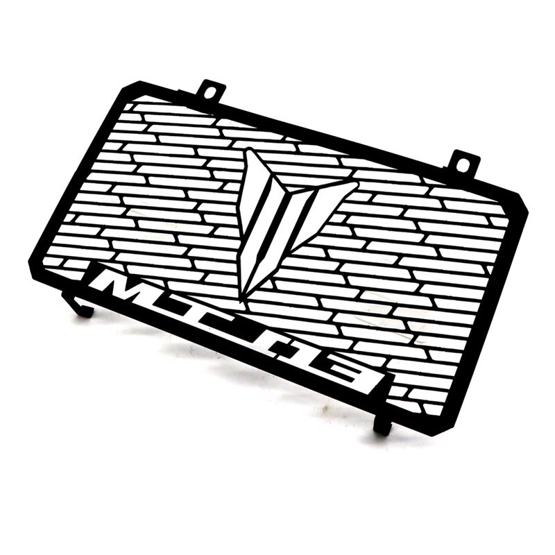 Motorcycle Modified Parts Radiator Grille Grill Guard Cover Protector for Yamaha MT-03 15-17 black
