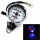 Motorcycle Odometer Speedometer Tachometer Speedo Meter LED For Honda Cafe Racer plating