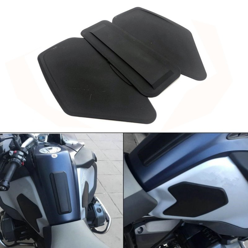 Motorcycle Oil Pad Protector Sticker for BMW R1200GS ADV 14-18 black