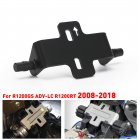 Motorcycle Refitting Cushion Adjuster CNC Heightening Device for BMWR1200GS RT ADV-L 08-18 black