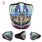 Motorcycle Riding Mask Dust proof Mask Halloween Mask with Different Pattern One size