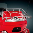 Motorcycle Travel Luggage Rack for Can Am Spyder RT / RTS / RT Ltd silver