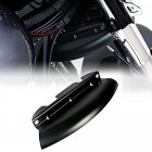 Motorcycle Wind Deflector Lower Triple Tree Wind Deflector for  Touring Street Glide 2014-2018 black