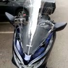Motorcycle Windshield Applicable to HONDA PCX/125/150 Front Windshield Transparent