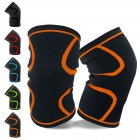 Mounchain 2Pcs Set Athletics Running Jogging Sports Joint Pain Relief Arthritis Wrap Knee Compression Sleeve