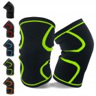 Mounchain 2Pcs/Set Athletics Running Jogging Sports Joint Pain Relief Arthritis Wrap Knee Compression Sleeve