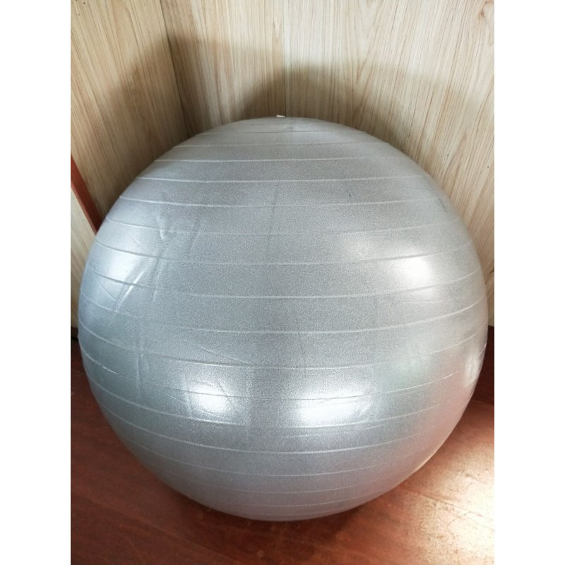 Mounchain Anti-Burst Yoga Ball (65cm), Extra Thick & Explosion-Proof Yoga Ball for Yoga, Pilates, Stretching Training, Midwifery Training etc