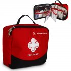 Mounchain First Aid Kit Lightweight Portable Multi Function Pocket Emergency Kit  8 items  148 PCS