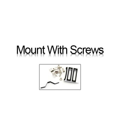 Mount with screw